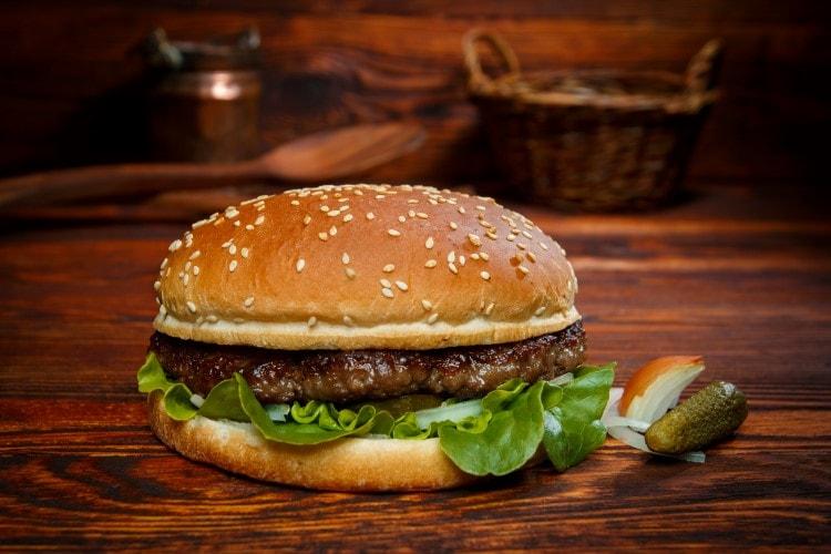 Big Burger Menü