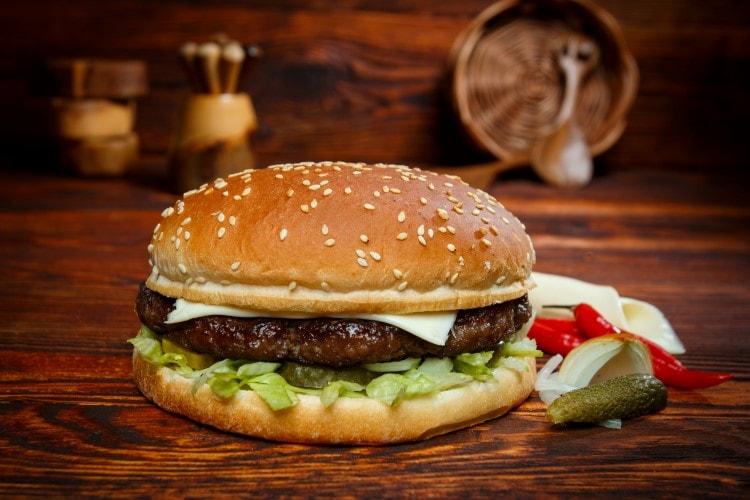 Füür Burger Menü