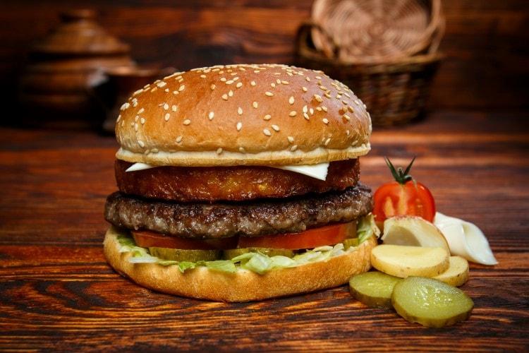 Rösti Burger Menü