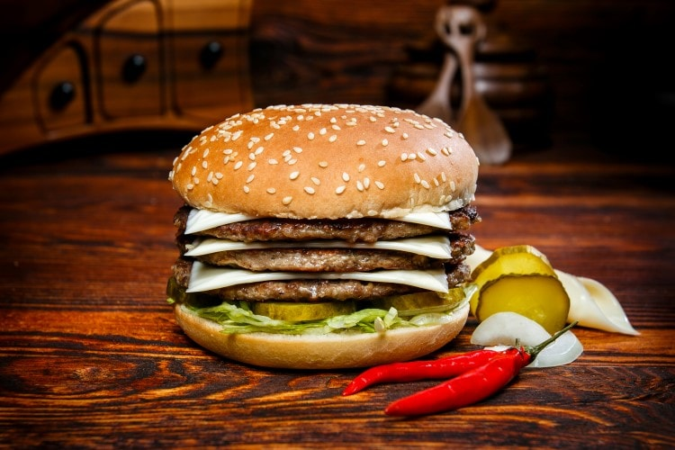 K.O. Burger Menü